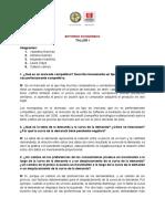 ENTORNO ECONOMICO (Taller 2)