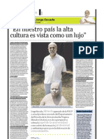 Jorge Secada (filósofo), PuntoEdu. 08/05/2006