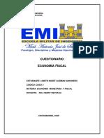 CUESTIONARIO ECONOMIA FISCAL RESUELTO