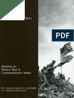 Closing in-Marines in the Seizure of Iwo Jima