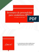 Inventario de personalidad para vendedores (IPV)