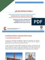 1-INTRODUCCIÓN AL ANÁLISIS ESTRUCTURAL