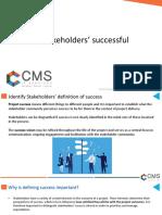 Making Stakeholder Successful