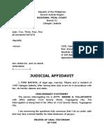 Judicial Affidavit FIVE.docx