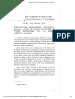 05. Pleasantville Devt Corp v. CA (Meaning of Good Faith;Bad Faith)