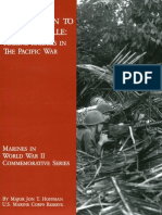 From Makin to Bougainville-Marine Raiders in the Pacific War