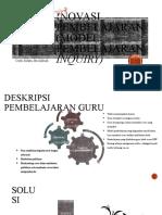 Inovasi pembelajaran (model pembelajaran inquiry + nht)