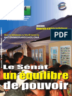 Sokela Numero 7 - Bulletin d'information du Sénat de Madagascar