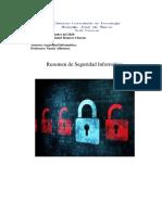 Resumen Seguridad Informatica cesar romero