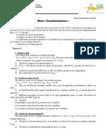 TDTransfo monophase et triphase.pdf