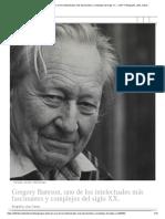 Gregory Bateson, uno de los intelectuales más fascinantes y complejos del siglo XX. - LOFF.IT Biografía, citas, frases_