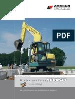 Caracteristicas tecnicas Yammar VIO75