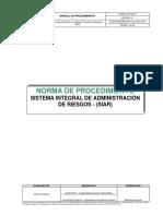 SISTEMA INTEGRAL DE ADMINISTRACION DE RIESGOS