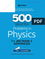 500 Problems in Physics