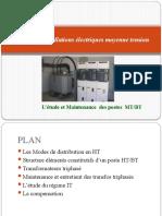 Etude et Maintenance des postes MT-BT
