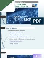 1 Introduction aux RESEAUX ELECTRIQUES __2018-2019