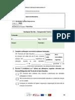 Avaliação Componente Teórica UFCD 10660