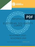 Infopack ESC Tallers (ENG) - 2020