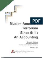 Muslim-American Terrorism Since 9/11
