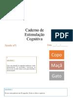 caderno de estimulação cognitiva ppt.odp