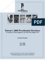 Taiwan's 2008 Presidential Elections