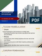 1-2. Investasi & T. Portofolio-Ch01 - Pengertian Investasi
