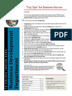 BD Newsletter Jan 2011