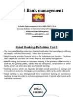 Retail Banking Complete 2 units ppt