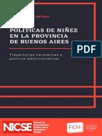 Políticas de Niñez en la Provincia de Buenos Aires