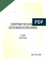 OUVRAGES GEOTECHNIQUES EN ZONE SISMIQUE 1.pdf