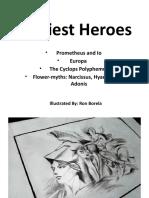 Earliest Heroes in Greek Mythology