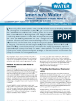 Why Vermont Needs Federal Investment in Public Water to Provide Safe Water for Generations to Come