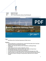 Climate Action Council - Power Generation Advisory Panel Meeting 2 10-22 Final
