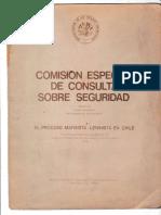1974 - El proceso Marxista Leninista en Chile