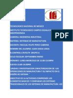 2.1 2 Investigacion Caracterizacion de Las Operaciones de Manufactura y Su Impacto en El Diseño de Sistema