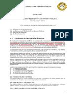 S3 - FACTORES DE LA OPINION PUBLICA
