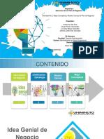 Mapa Conceptual y Modelo Canvas de Plan de Negocios