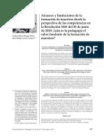 Garcés JF y RungeAndres alcancesylimitacionesdelaformaciondemaestros.pdf