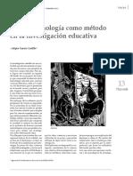 articulo de fenomenologia