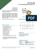 TGP2105-SM Data Sheet
