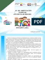 ORIENTACIONES GENERALES DE ORIENTACION ZONAL