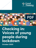 Voices of Gen Z Youth During Lockdown