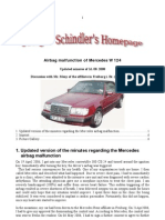 Mercedes Airbag Malfunction