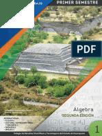 CECYBOOK  ALGEBRA para planteles