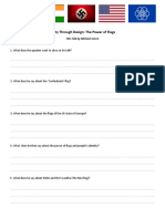 TED Talk Worksheet - Unity Through Design The Power of Flags (1)