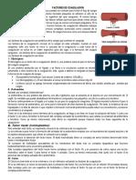 factores de coagulacion
