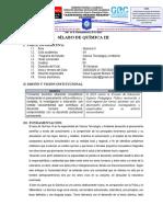 SILABOS QUIMICA III Y PRACTICA PRE PROF. III- CTA VII-2020-I