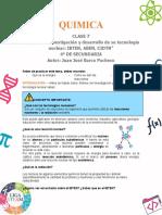 GUIA 7 Bolivia con investigación y desarrollo de su tecnología nuclear IBTEN, ABEN, CIDTN -JUAN JOSE BARCO PACHECO