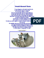 23rd Psalm in the Wensleydale Dialect