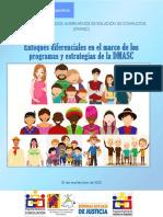 Documento de Enfoques diferenciales en el marco de los programas y estrategias de la DMASC